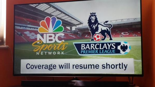 NBC Sports Live Extra experiences first major outage with Premier League coverage