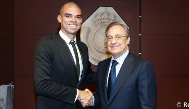 Contract extension puts Pepe in line to reach 10 years at Real Madrid