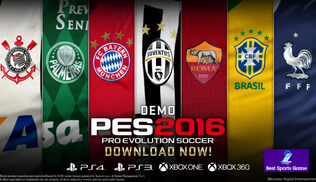 First impressions of PES 2016 demo; Konami's serious challenge to EA's FIFA