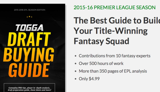 Togga launches Premier League draft buying guide for fantasy soccer players