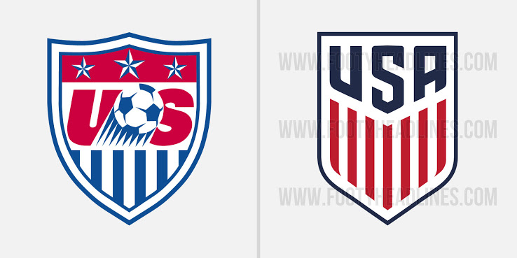 Usa Soccer Logo Comparison