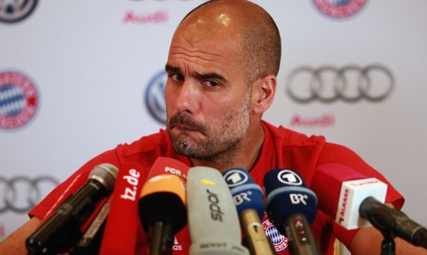 Pep Guardiola refuses to comment on his future; storms out of press conference