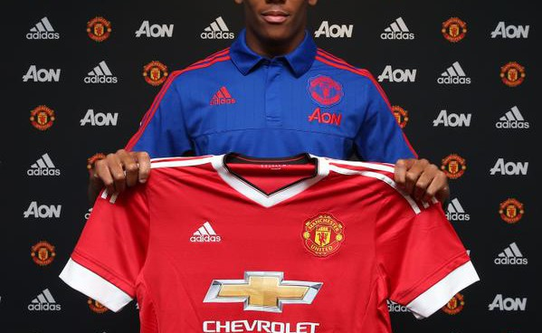 Manchester United have confirmed the signing of Anthony Martial