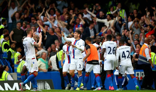 Progress report for Crystal Palace's first four matches of the Premier League season