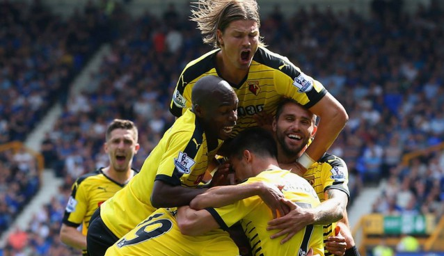 Progress report for Watford's first four matches of the Premier League season