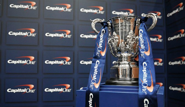 Schedule of Capital One Cup midweek games on TV