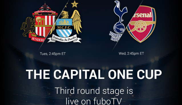 Watch Spurs vs. Arsenal live stream at 2:30pm ET in Capital One Cup derby