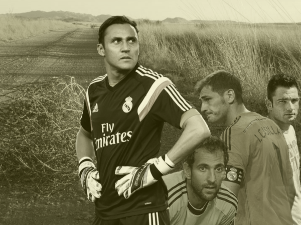navas and co 600x450 Keylor Navas is left to salvage his season after Real Madrid sabotaged another goalkeeper