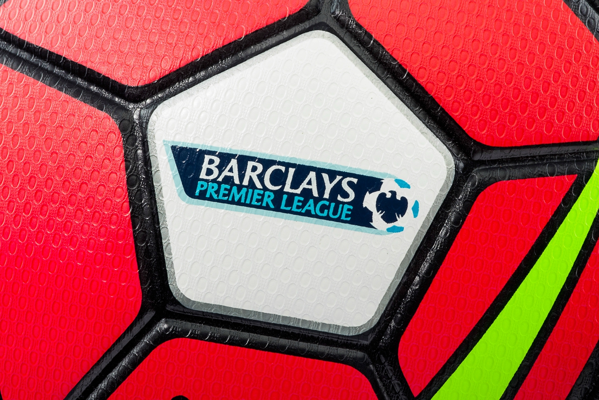 nike ball epl header