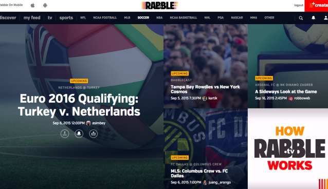 Rabble.tv launches website redesign and new chapter in its soccer growth