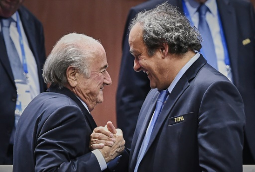 FIFA suspends Blatter, Platini and Valcke from soccer-related activities for 90 days