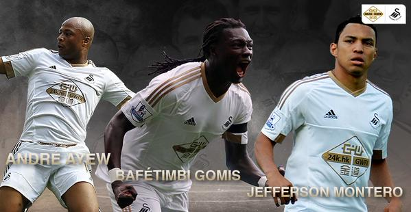 Progress report for Swansea's first four games of the Premier League season