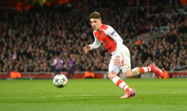 Hector Bellerin overcomes shaky first half to help bury Bayern Munich