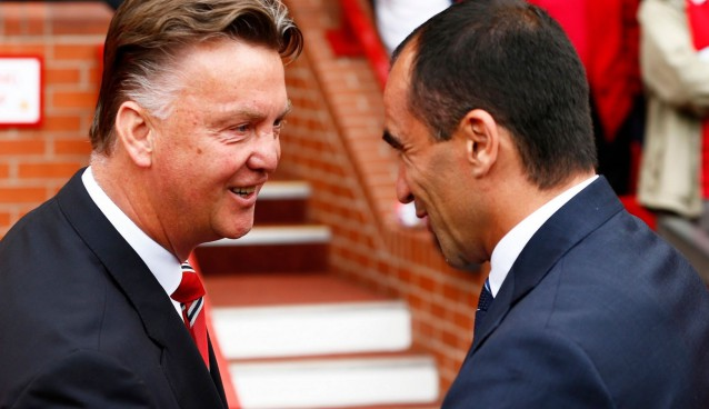 Everton an ideal litmus test for Louis van Gaal's reshaped Manchester United side