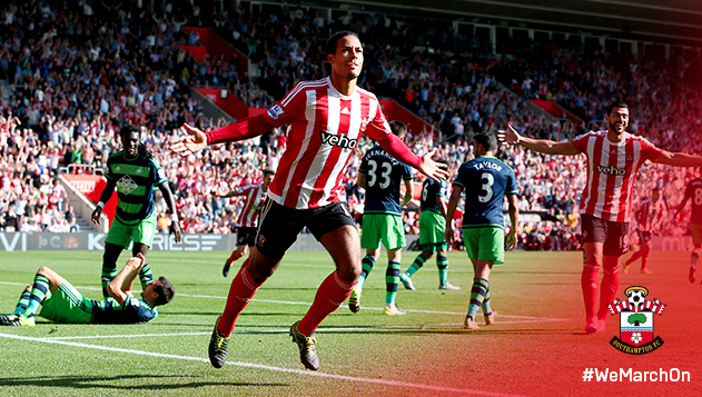 Virgil van Dijk has given Southampton one of the best center back pairings in England