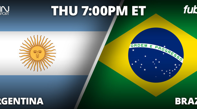 Where to find Argentina vs. Brazil on US TV and streaming