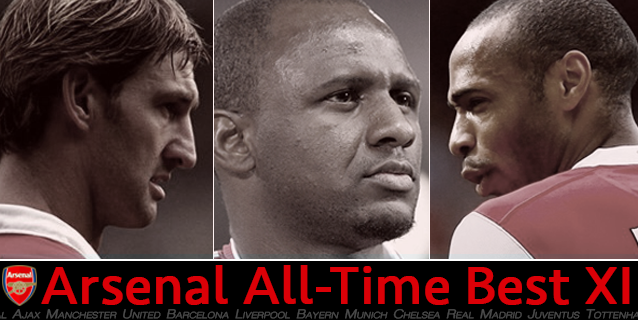 Arsenal's best starting XI of all-time