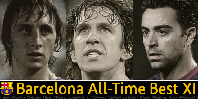 Barcelona's best starting XI of all-time