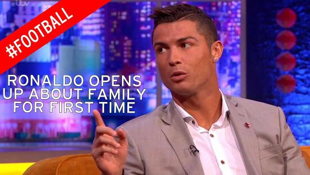 Watch Cristiano Ronaldo's revealing interview on the Jonathan Ross Show [VIDEO]