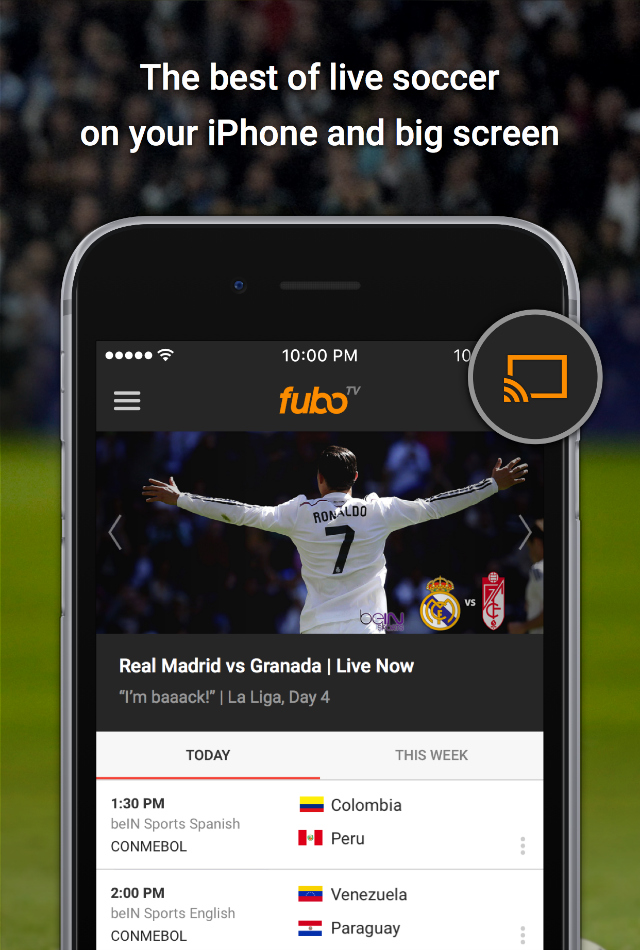 fuboTV launches updated iOS app with new features for soccer