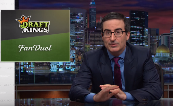 John Oliver rips into DraftKings and Fanduel daily fantasy sports games