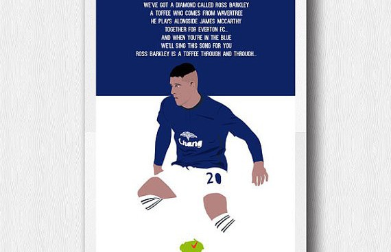 Ross Barkley is in the midst of his breakout campaign at Everton