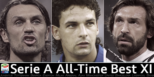 Serie A's best starting XI of all time