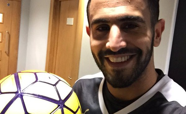 Riyad Mahrez is the engine behind Leicester City's table-topping success