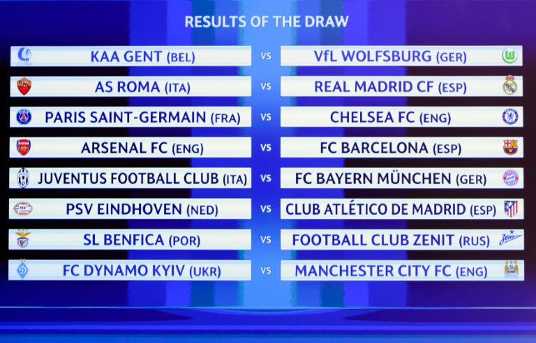 UCL: Arsenal handed Barca; Chelsea gets PSG rematch ...