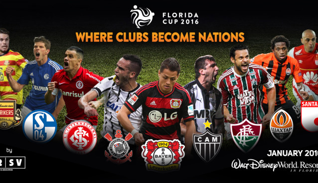 Florida Cup to feature 9 high-profile teams from around the world this January