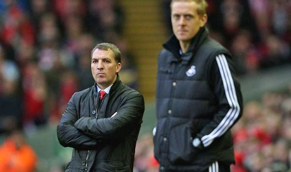 Concerns about Brendan Rodgers replacing Garry Monk as Swansea manager