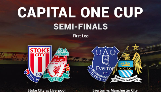 Capital One Cup semi-finals will be televised on beIN SPORTS and legal streaming services