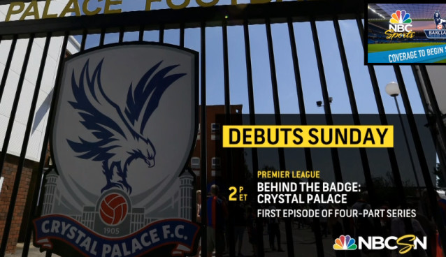 NBCSN to debut Crystal Palace documentary series 'Behind The Badge' this Sunday