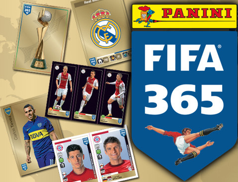 Panini launches 'FIFA 365,' a new sticker collection that's ideal for fans of club soccer