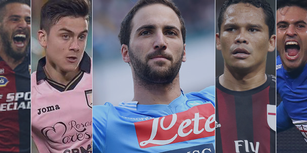 These 5 strikers are lighting up Serie A