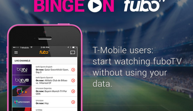 fuboTV offers unlimited streaming of soccer games with T-Mobile service