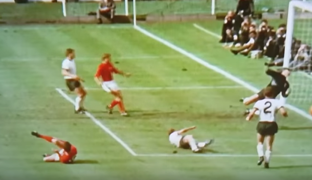Sky Sports proves that Geoff Hurst's shot for England was a goal in 1966 World Cup Final [VIDEO]