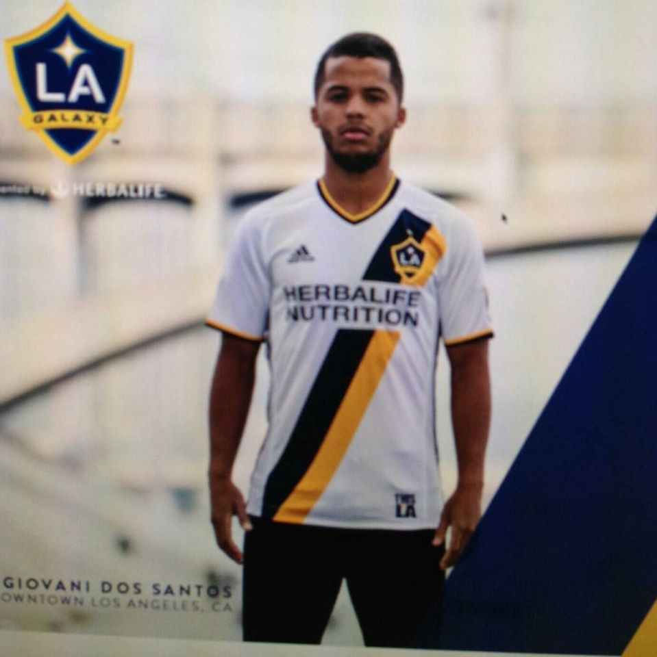 sports shoes 35711 abb5b LA Galaxy home jersey for 2016 MLS season: Leaked [PHOTO ...