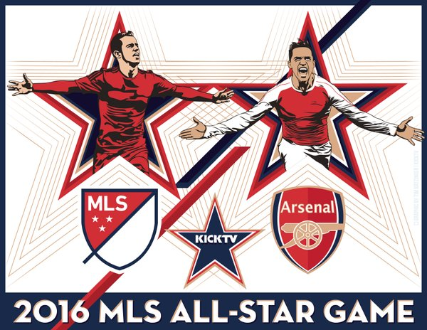857fd2bf4 Arsenal tickets on sale for MLS All-Star Game in San Jose and Chivas in Los  Angeles
