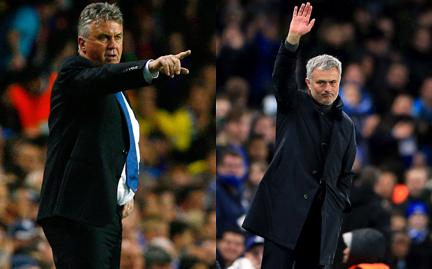 hiddink-mourinho