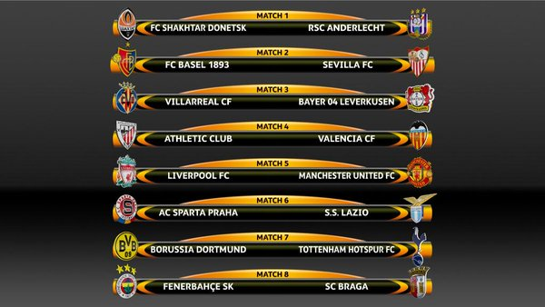 europe champions league fixtures