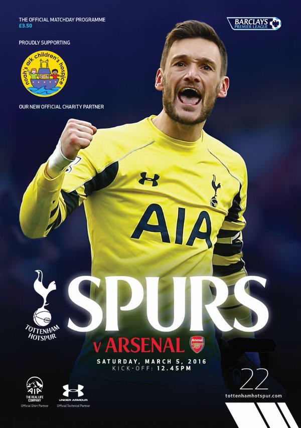 spurs-arsenal-programme