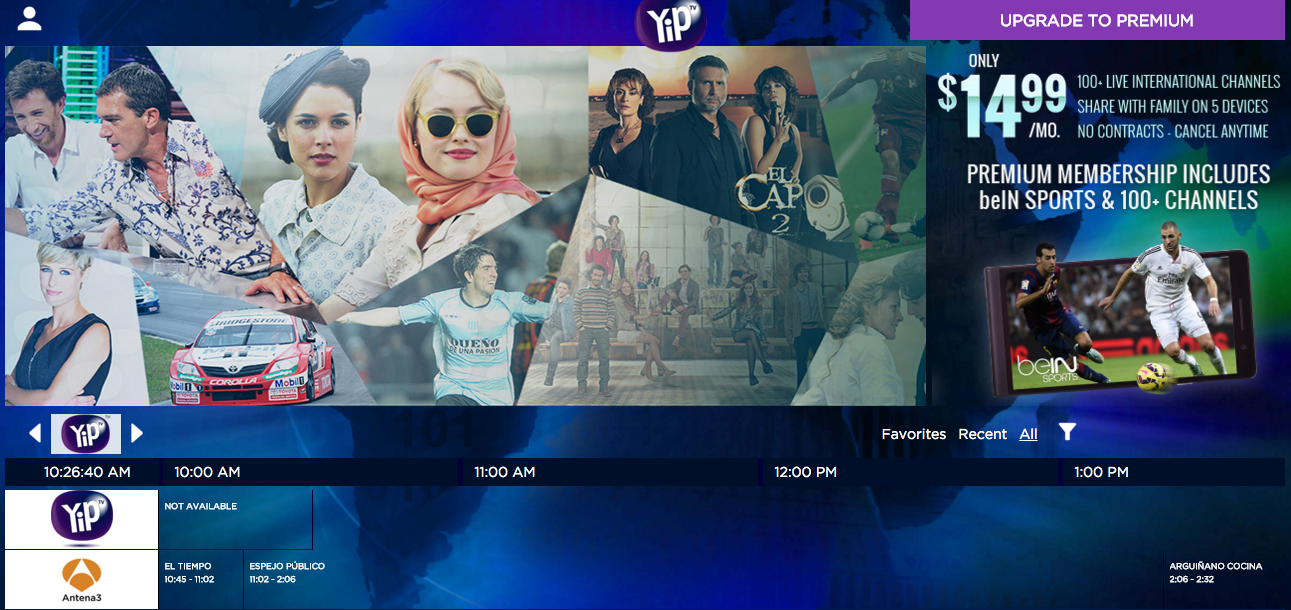 yiptv-screenshot