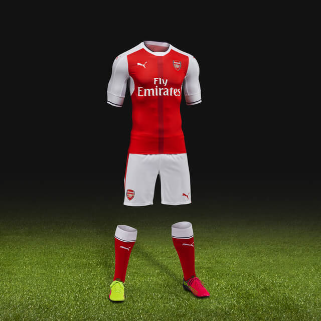 Browse The Selection Of Arsenal Jerseys Available From World Soccer