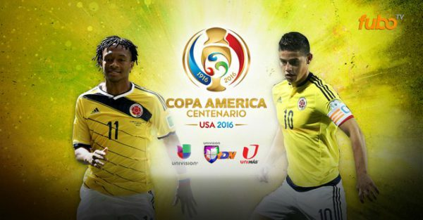 Colombia Copa America Games On TV