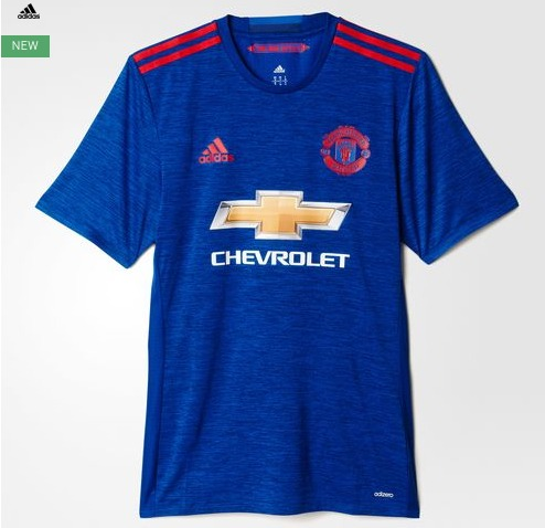 Manchester United Official Football Shirts & New Kit Releases