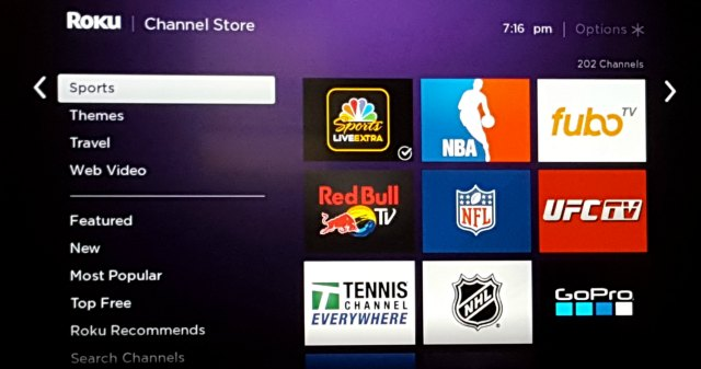 how to add more channels to roku pear channel