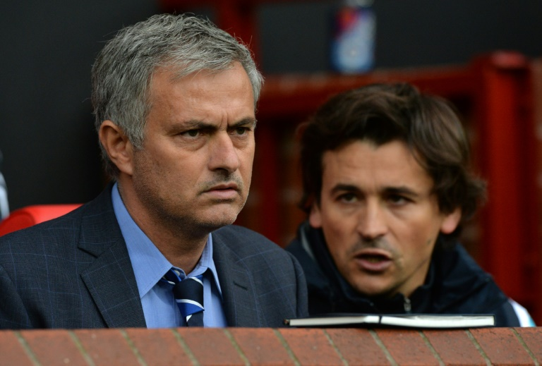 Manchester United name Jose Mourinho's backroom staff