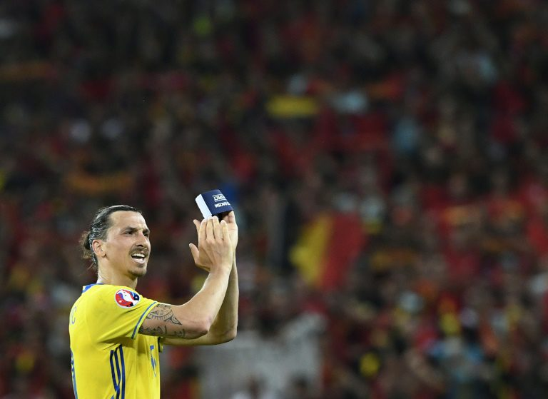 Ibrahimovic happy to make United debut in Sweden