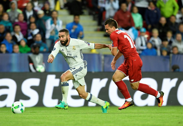 Real Madrid win Super Cup following last-gasp Dani Carvajal goal